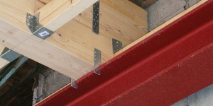 Stahl-Holz-Konstruktion