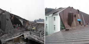 Kupferdach inkl. Dachstuhl